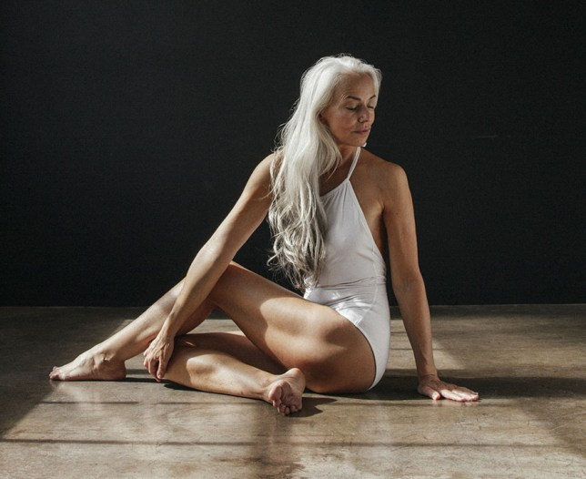 Sixty-year-old model Yazemeenah Rossi Credit The Dreslyn/Land of Women