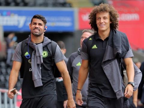 Chelsea defender David Luiz defends Diego Costa after training ground bust-up rumours