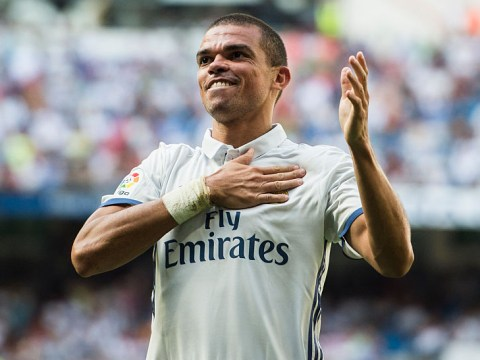 Manchester United targeting a move for Real Madrid defender Pepe