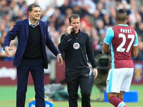 Slaven Bilic left 'let down and angry' by West Ham rebel Dimitri Payet