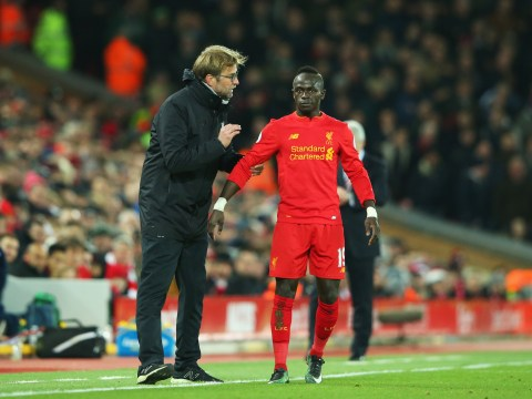 Liverpool boss Jurgen Klopp will decide if Sadio Mane can play against Chelsea when he sees him