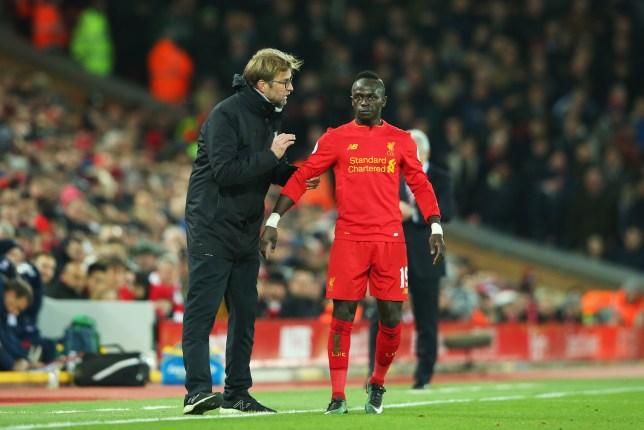 1935cbfdd Liverpool boss Jurgen Klopp will decide if Sadio Mane can play against  Chelsea when he sees him
