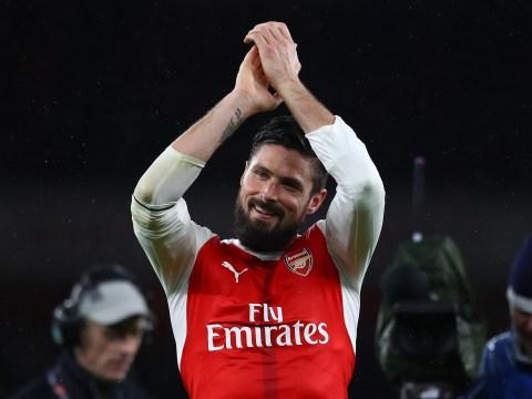 Olivier Giroud wondergoal up there with legendary Arsenal strikes, says Arsene Wenger