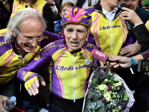 105-year-old cyclist makes you feel awful about yourself by setting new world record