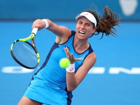 Johanna Konta books semi-final clash with Eugenie Bouchard in Sydney