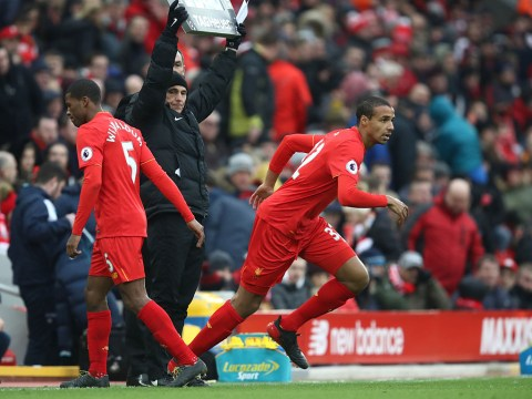 Manchester United fans label Jurgen Klopp a hypocrite as Liverpool go long ball with Joel Matip up front