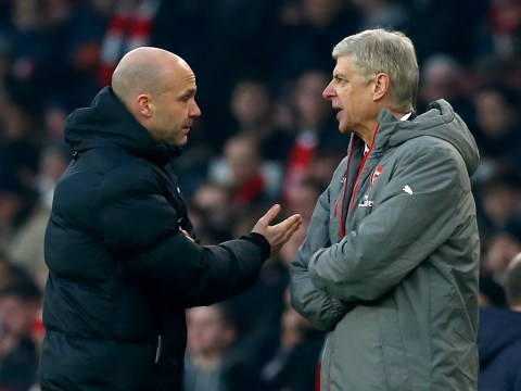 Arsenal boss Arsene Wenger accused of 'girly' push on fourth official Anthony Taylor