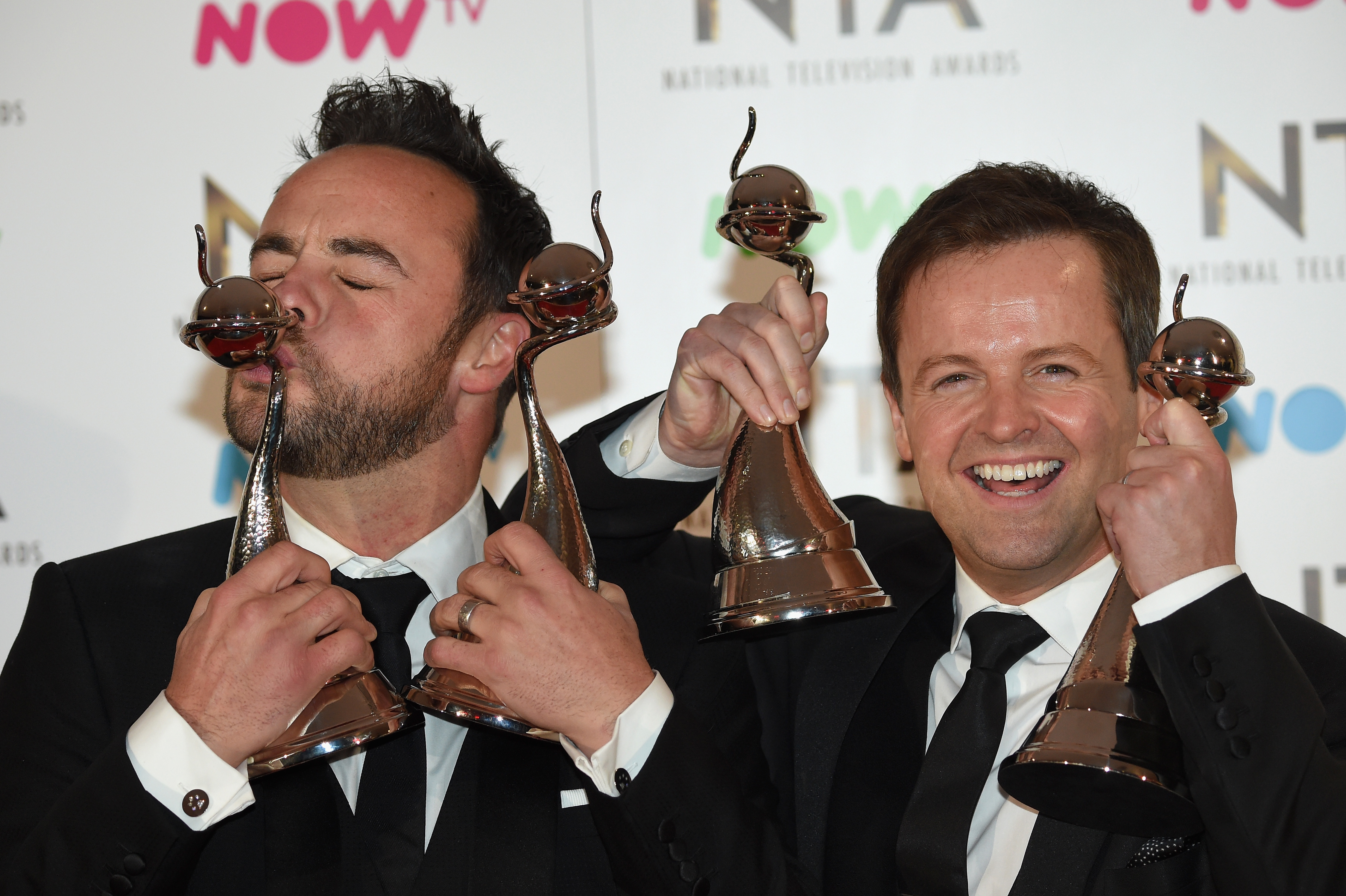 Ant McPartlin ended up in hospital after he dropped a National Television Award on his ankle