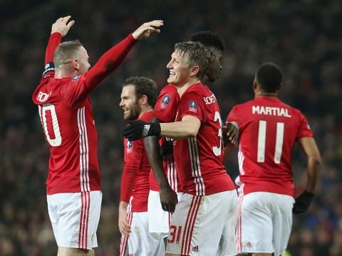 Jose Mourinho lifts lid on Bastian Schweinsteiger's Manchester United future