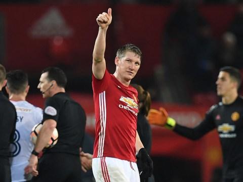 Manchester United fans send Jose Mourinho clear message over Bastian Schweinsteiger