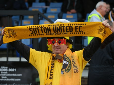 Sutton United react in shock after drawing Arsenal in the FA Cup