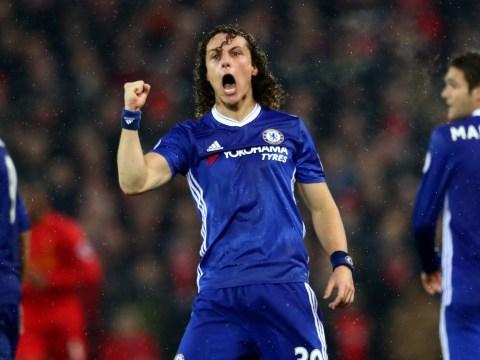 Chelsea defender David Luiz scored stunning free-kick despite carrying knee injury