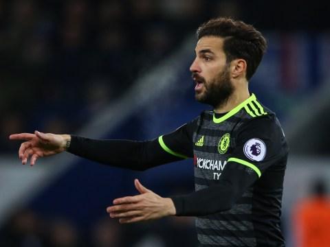 Serie A trio ready to spend big on Chelsea midfielder Cesc Fabregas