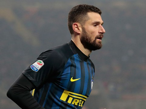 Chelsea have £26m offer for Antonio Candreva rejected by Inter Milan
