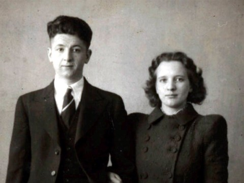 Couple who fell in love in a WWII air raid shelter are celebrating 75 years of marriage