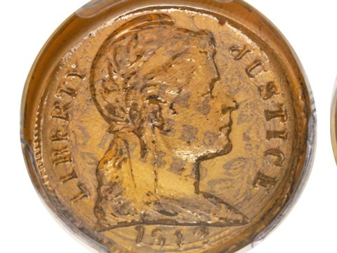 Rare glass penny made during World War II sells for £57,300