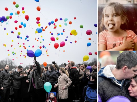 Balloons released to mark birthday of girl who had her throat slashed