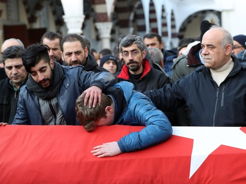 Gunman opens fire in Istanbul mosque hours after 'Santa Claus' terror attack