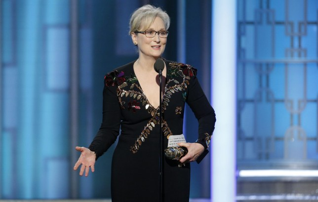 Trump hits back at 'Hilary lover' Meryl Streep