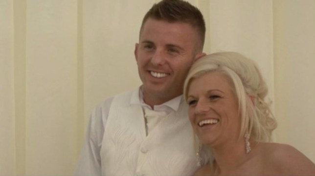 A million-pound cocaine couple who blew £40k on a wedding while claiming BENEFITS have been ordered to pay back just £14,000. Carl and Donna Honey-Jones used their drug dealing empire to fund a lavish lifestyle of holidays to Dubai, Maldives, Florida and Mexico and buy luxury cars with personalised plates. The brazen couple even splashed £40,000 on a wedding ó complete with a horse and carriage ó while still claiming benefits. They were sentenced in 2015 along with other gang members and have now been ordered to pay back less than £14,000 of their ill-gotten gains. Pictured here are Carl & Donna on their wedding day. © WALES NEWS SERVICE