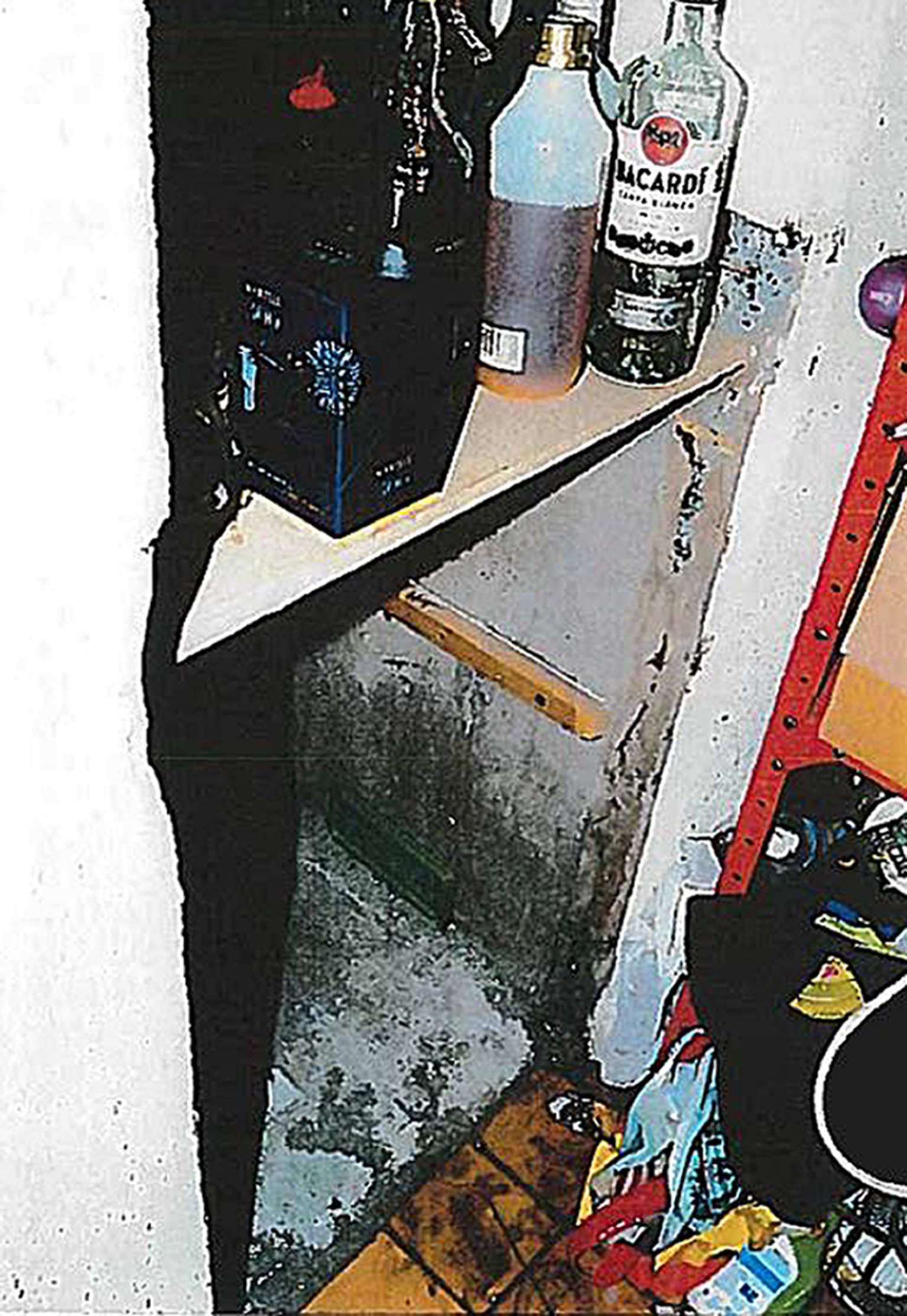 """BEST QUALITY AVAILABLE Undated handout photo issued by the CPS of a """"hidey hole"""" in the home of violent paedophile Michael Dunn which he used to conceal a girl he was abusing, as he was convicted of a string of sex crimes. PRESS ASSOCIATION Photo. Issue date: Thursday January 26, 2017. The 57-year-old from Redcar, knocked through the wall behind his fridge to create a cavity which he used to hide the runaway girl from the police. See PA story COURTS Hole. Photo credit should read: CPS/PA Wire NOTE TO EDITORS: This handout photo may only be used in for editorial reporting purposes for the contemporaneous illustration of events, things or the people in the image or facts mentioned in the caption. Reuse of the picture may require further permission from the copyright holder."""