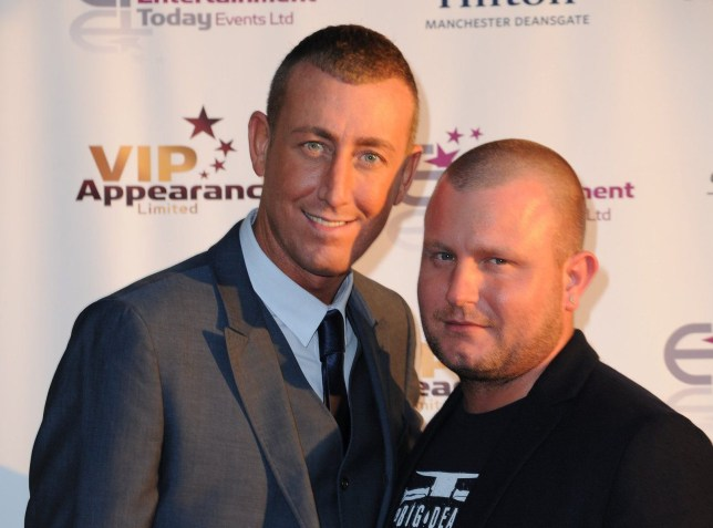 Christopher Maloney and boyfriend at the launch of VIP appearances at the Hilton hotel Manchester Featuring: Christopher Maloney, Gary Doran Where: Manchester, United Kingdom When: 05 Jun 2013 Credit: Steve Searle/WENN.com