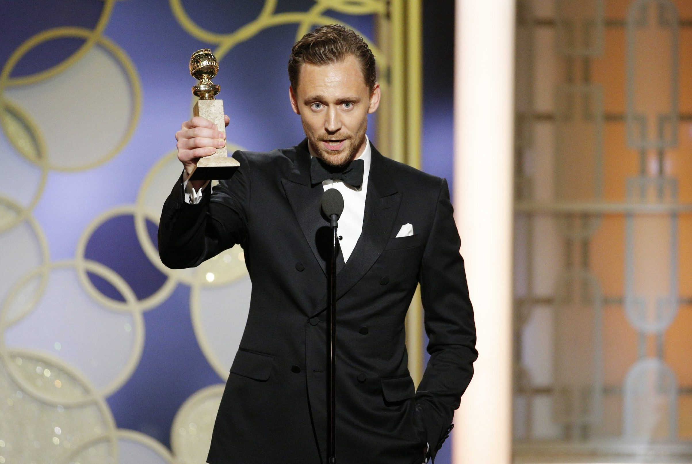 Tom Hiddleston pens Facebook apology for his 'confusing' Golden Globes speech and says he was 'very nervous'