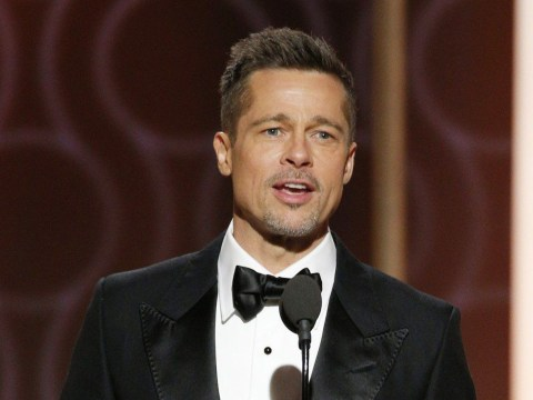 Brad Pitt gets huge round of applause as he makes surprise Golden Globes appearance