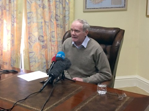 Martin McGuinness resigns as Deputy First Minister of Northern Ireland