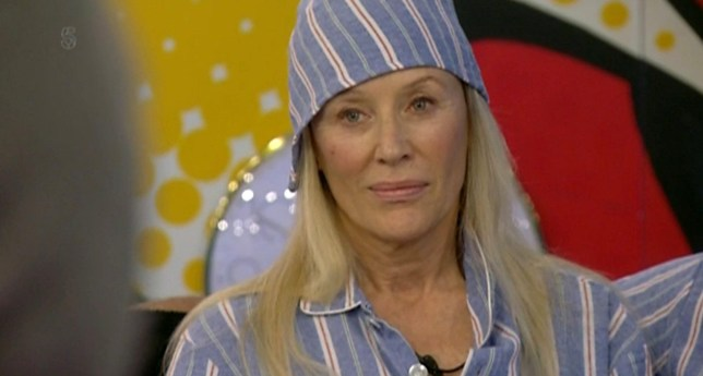 Editorial Use Only Mandatory Credit: Photo by REX/Shutterstock (7765321cb) Angie Best 'Celebrity Big Brother' TV show, Elstree Studios, Hertfordshire, UK - 10 Jan 2017