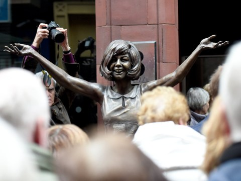 Cilla Black tribute statue unveiled to thank fans for their 'love and support'