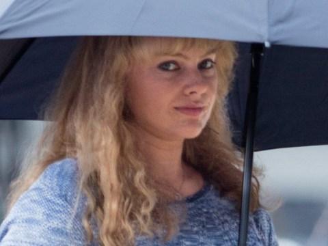 Margot Robbie looks nothing like herself on set of biopic of US figure skater Tonya Harding