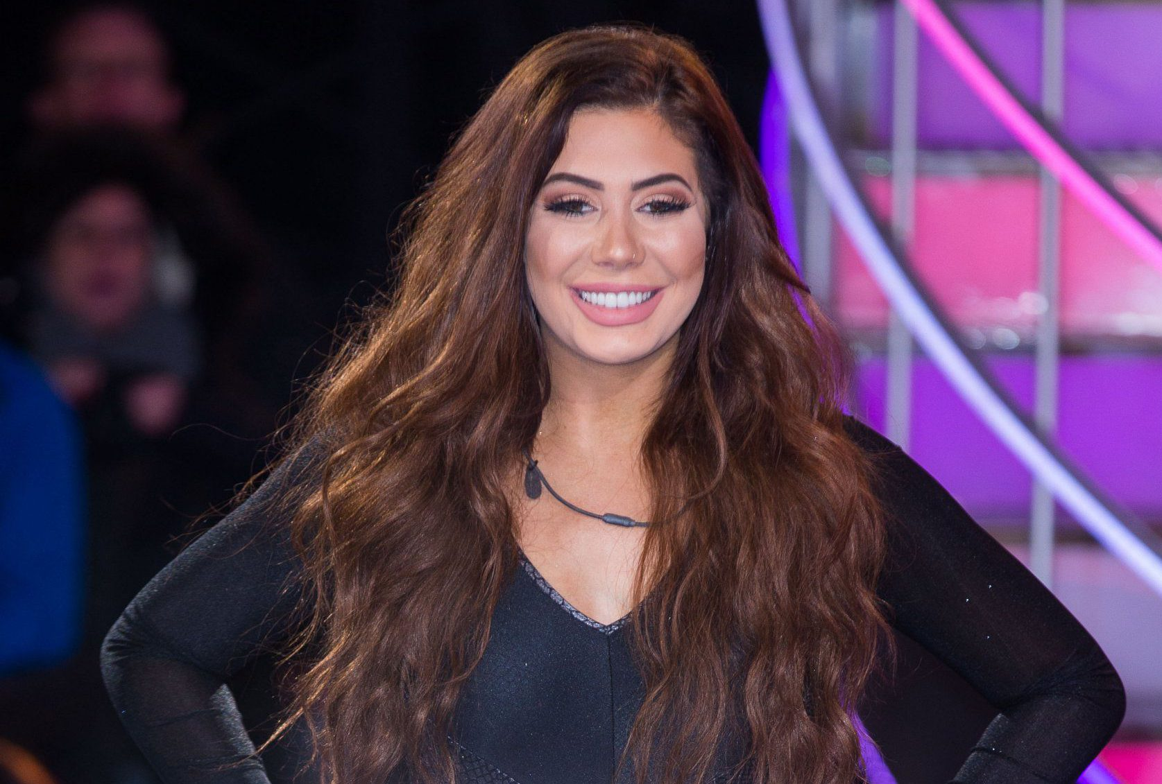 Mandatory Credit: Photo by James Shaw/REX/Shutterstock (7945107f) Chloe Ferry 'Celebrity Big Brother' TV show, Elstree Studios, Hertfordshire, UK - 20 Jan 2017