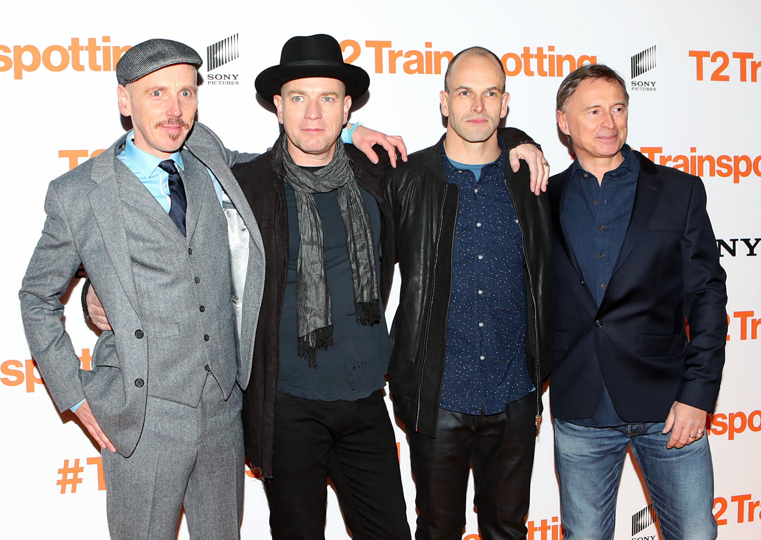 Ewan McGregor and the cast of T2 Trainspotting had an absolute ball at the film's Edinburgh premiere
