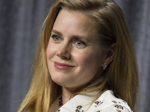 Arrival star Amy Adams keeps upbeat at Hollywood industry event despite Oscars snub