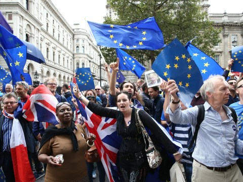 Huge protest planned to try and block Brexit