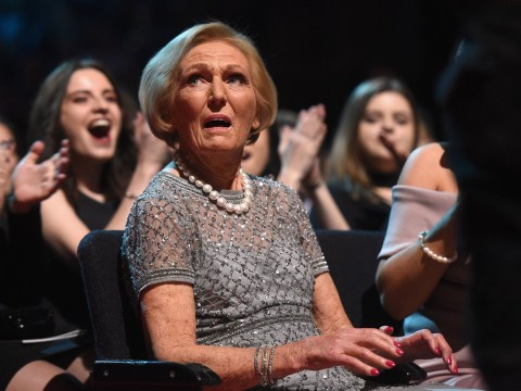 Turns out Mary Berry really hated crying contestants on The Great British Bake Off