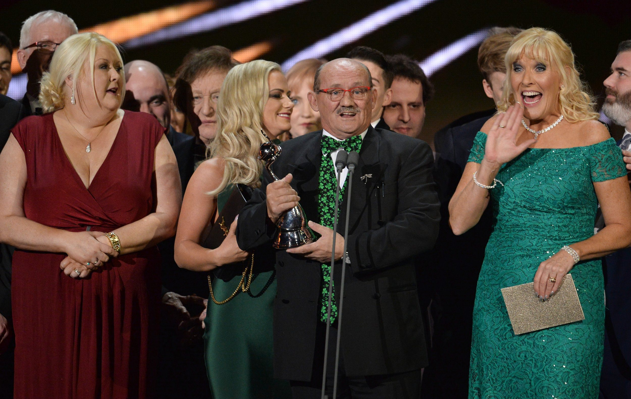 Turns out Mrs Brown's Boys wasn't booed at the National Television Awards after all