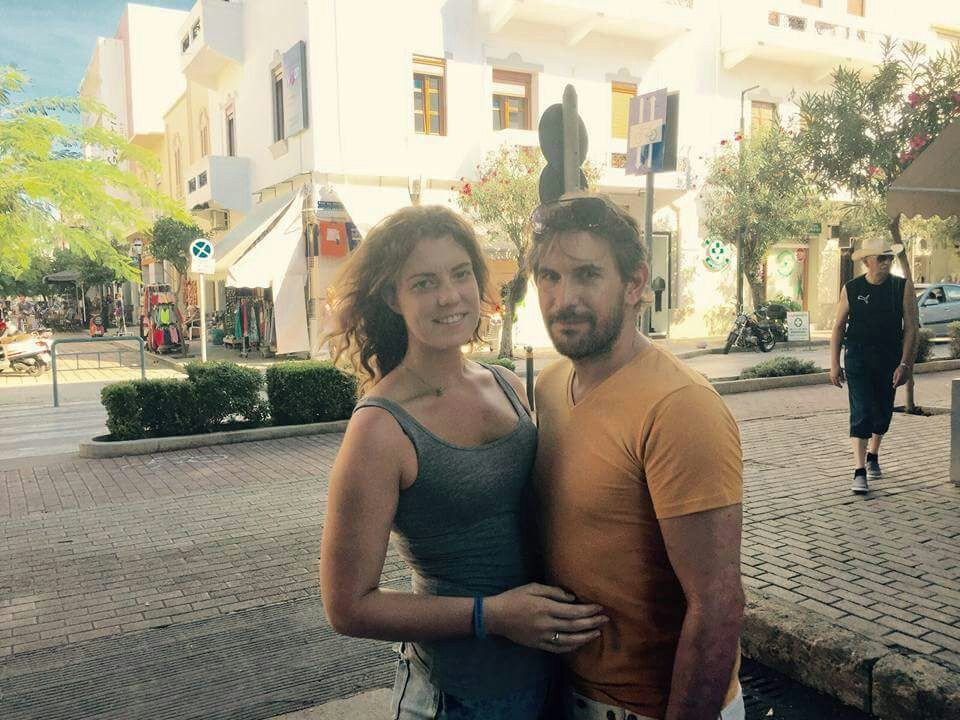 ***EMBARGOED UNTIL 15.00 GMT JANUARY 29 2017** Catherine and Thomas on holiday in Egypt November 2015. Catherine Blackett, 22, of Somercotes, Derbyshire, dumped 42-year-old Thomas Raven - who also goes by the name Christopher Slaney - when she discovered he'd cheekily used her credit card to buy her expensive jewellery for Christmas. Unbeknown to Catherine, just three days after splitting, Raven - who claims to be an actor - fraudulently set up two store cards in her name and continued to rack up hundreds of pounds worth of debt behind her back. In December 2016, he received a caution from the police after admitting to fraud and forgery. See SWNS story SWCHEAT; A woman shamed a fraudster ex-lover on Facebook ñ and was stunned when others shared bitter experiences of the same man. Catherine Blackett, 22, put photos of charmer Thomas Raven on the social media site as a warning after he racked up huge debts in her name. Raven ñ 20 years her senior ñ fraudulently opened up store cards in her name after they split. Catherine was furious that he escaped with only a caution after a police probe, despite admitting fraud and forgery. So she uploaded two pictures of him onto Facebook and advised women to ìbe awareî of the bit-part actor, adding: ìHeíll bleed you dry.î