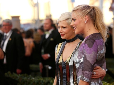 Michelle Williams and Busy Philipps on the SAG Awards red carpet are #friendshipgoals