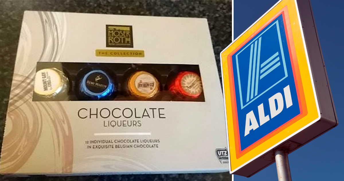 Aldi refused to sell this woman chocolate liqueurs because her niece, 13, was there