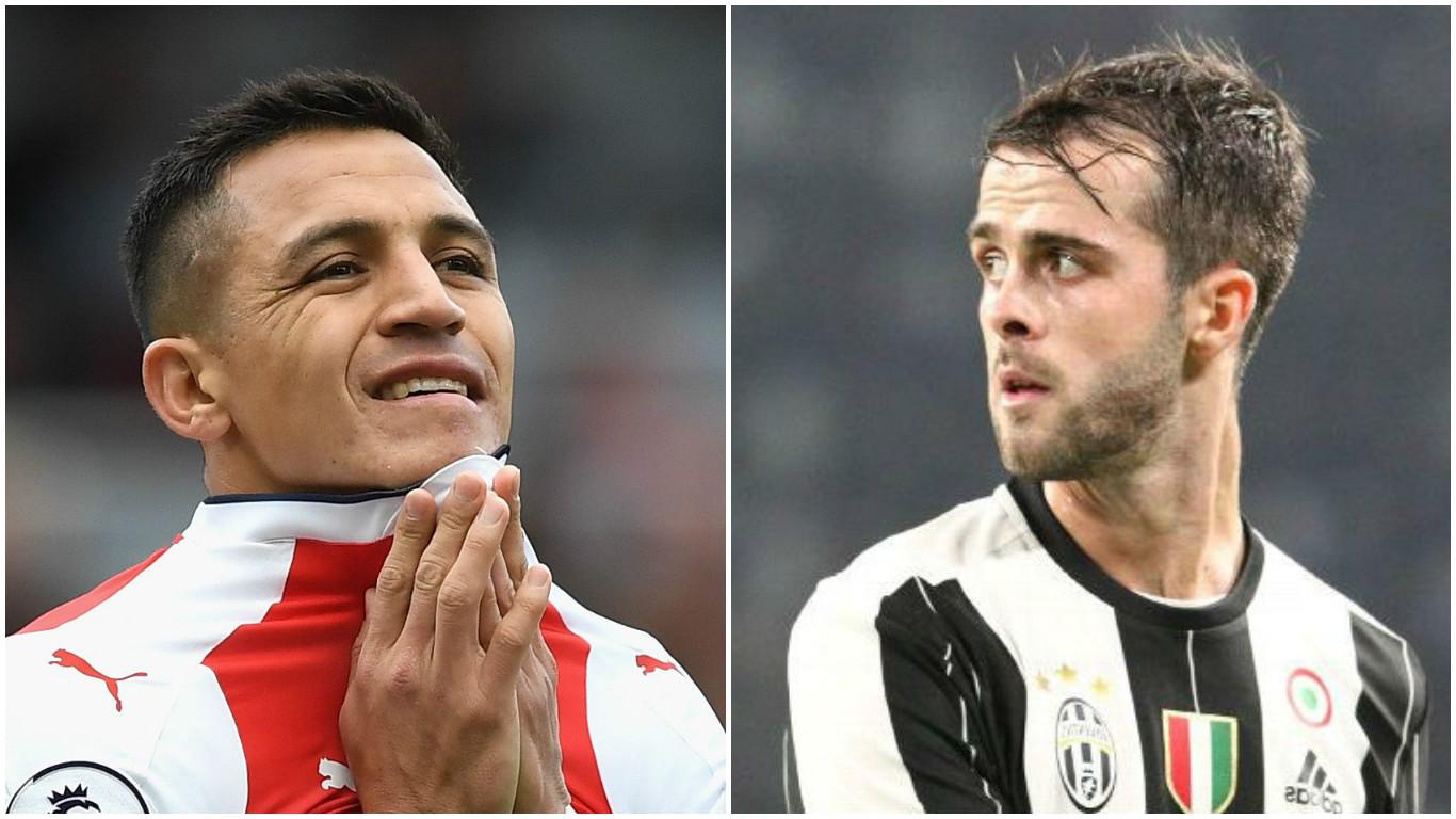 Juventus to offer Arsenal audacious Miralem Pjanic swap deal for Alexis Sanchez