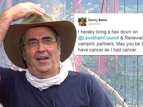 Danny Baker slammed by fans after wishing cancer on local council bosses