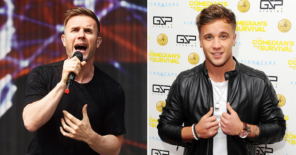 Gary Barlow blocks former X Factor finalist Sam Callahan after he shares nude photo of him