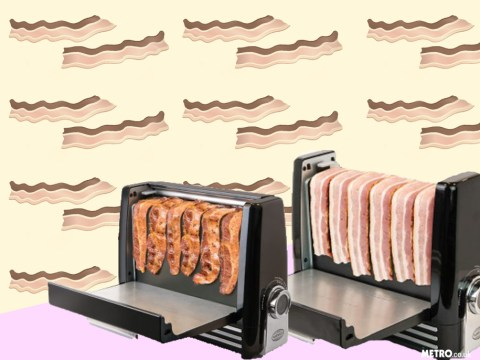 We don't want to alarm anyone, but they've invented a bacon toaster