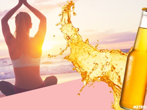 Beer Yoga now exists and it's going global