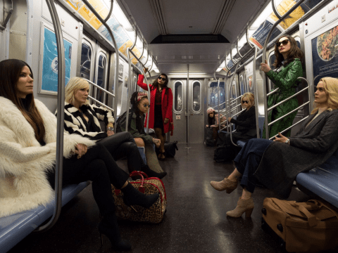 First look at Sandra Bullock, Cate Blanchett and Rihanna in Ocean's 8 is giving us #SquadGoals