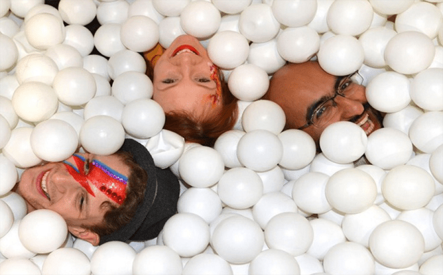 Giant ball pit (for adults) opens in Shoreditch Credit: Museum Of Happiness