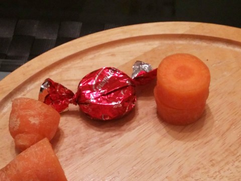 Kid eats all the sweets, his cousin executes the perfect revenge