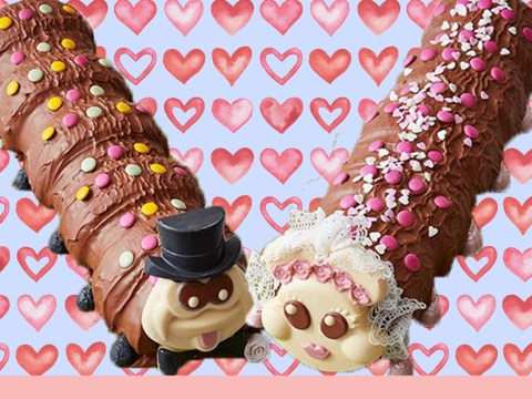 Very important news: Colin the Caterpillar is getting married and I'm still f***ing single